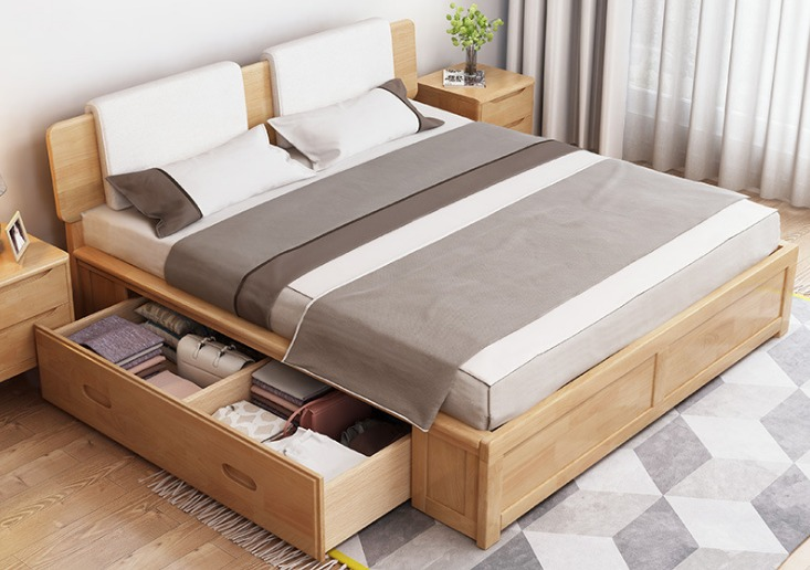 storage bed-melamine particleboard