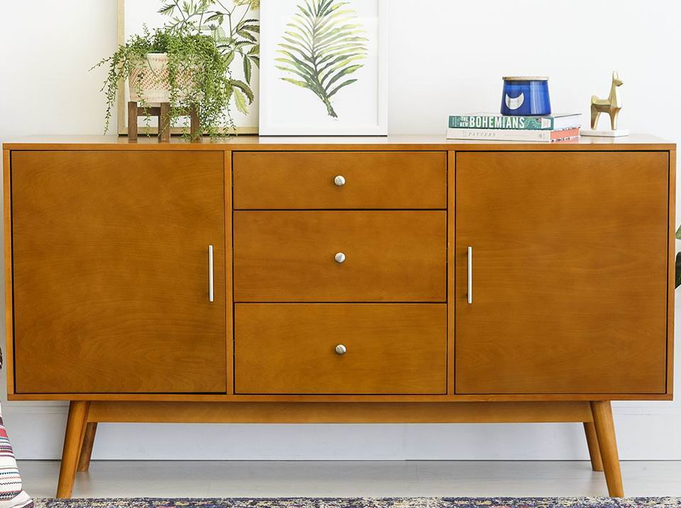 Mid-Century designed style TV Console
