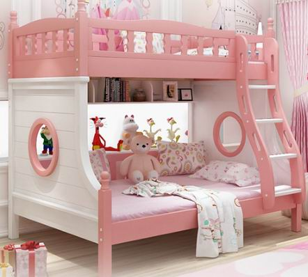 Princess and Prince's bunk bed