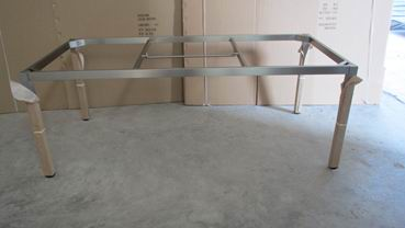Outdoor Stainless Steel Stretching table metal frame