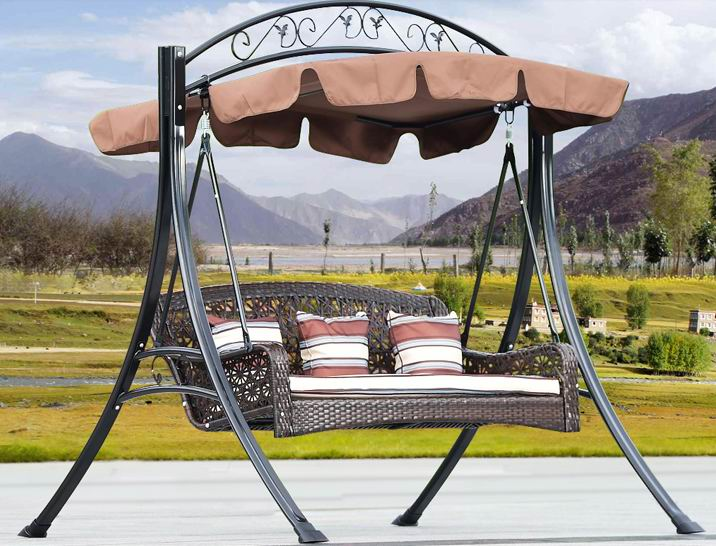 Modern and  elegant style 3 Seaters hammock/Swing Seats