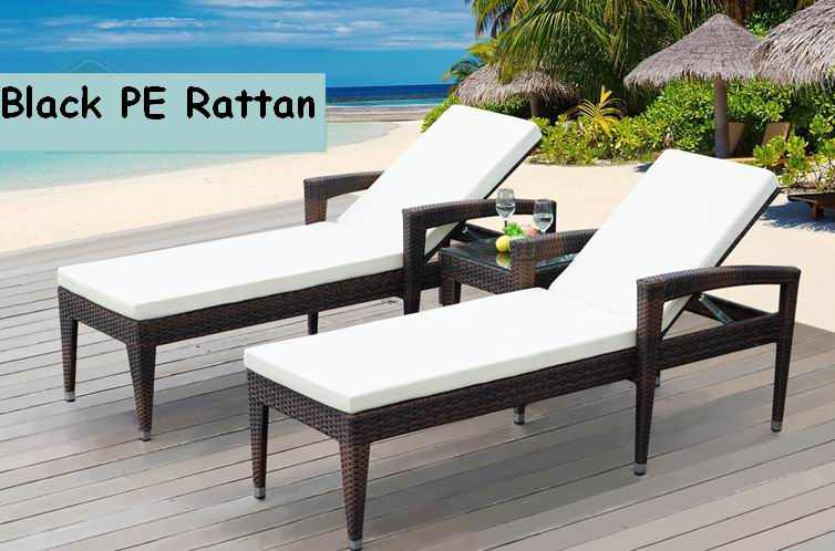 ... Multifunctional Outdoor Furniture Rattan Beach Lounge Chair ...