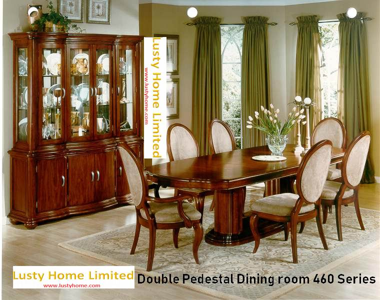 Double Pedestal Dining room 460 Series