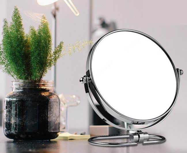 O shaped Dressing Mirror with Metal or Alu Alloy frame in Nordic and American style