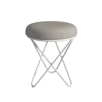 Nordic soft surface, modern simple low iron stool