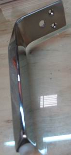 Stainless steel polished WS sofa leg 150