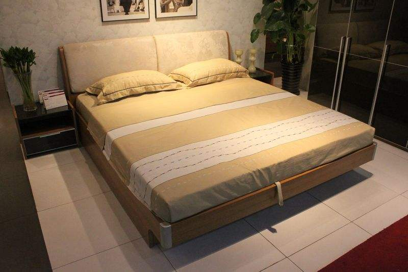 plate bed or with melamine particleboard