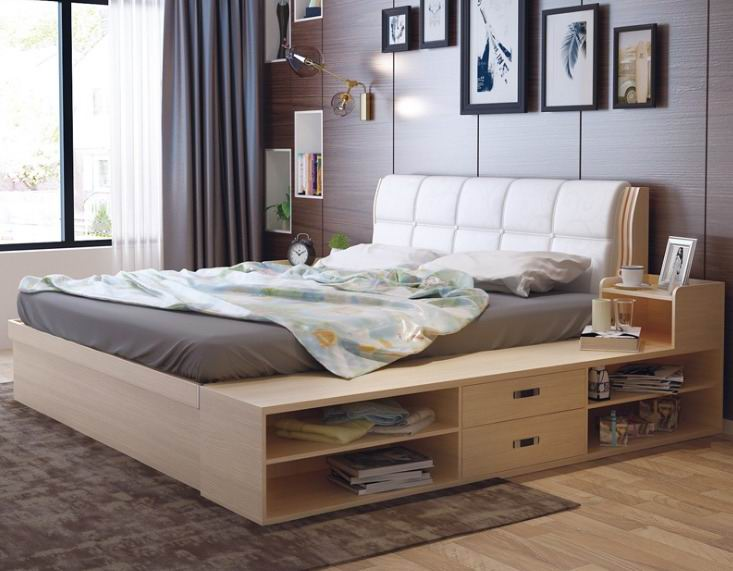 Multi-functional Storage Bed