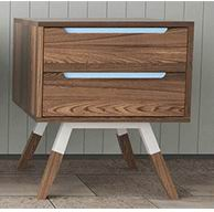 Page Night stand with Europe and Nordic style
