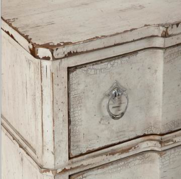 Antique Accent 3 Drawers Chest