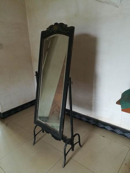 Antique Metal frame base dressing Mirror