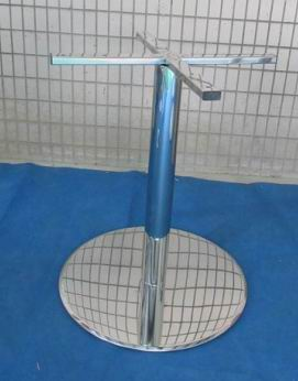 Metal Table Base frame(stainless steel)-Round Column
