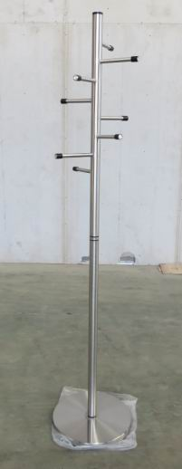 Coatstand in Stainless Steel Tube