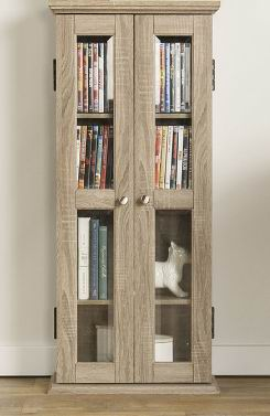 Oak frame Media Storage Tower