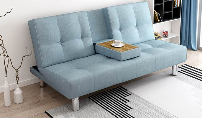 Nordic style lazy sleeper sofa