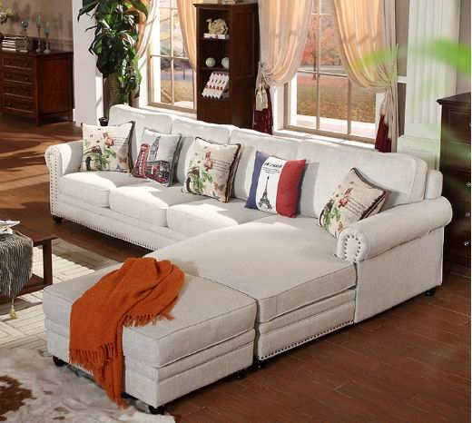 Mediterranean simple living room sofa