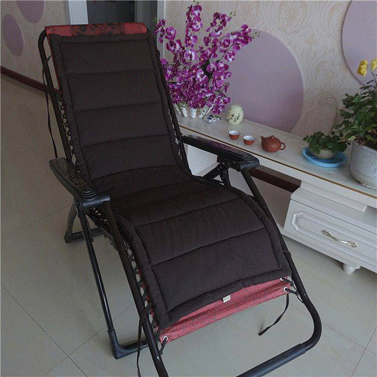Cotton & linen recliner office folding chair