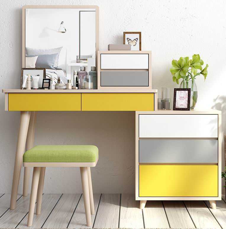 Dressing Table With Nordic Ideas Amp Retractable Storage