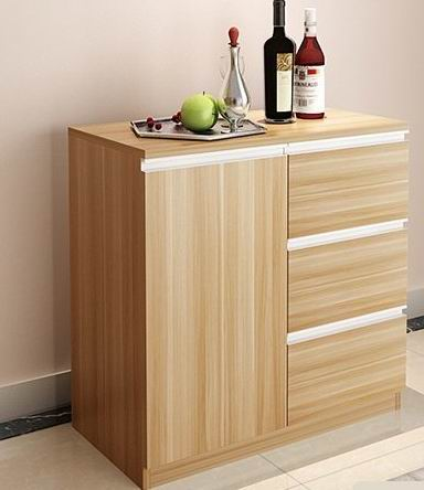 simple & modern kitchen storage with 3drawers-lusty home limited