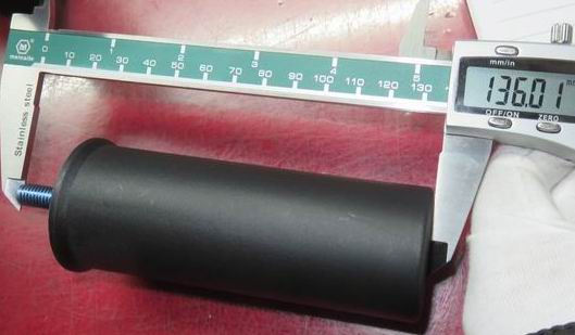 Plastic Sofa Leg 110x40mm