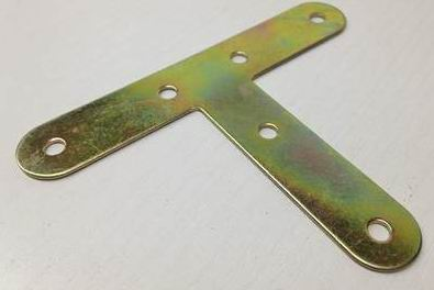 Iron Zn colored or stainless steel  Angle Bracket T shaped