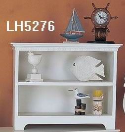 Antique white finish Wall Shelf with one shelf