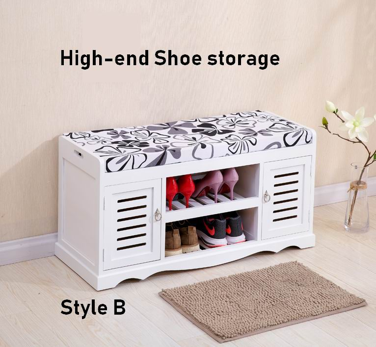 Solid wood High-End Shoe Storage