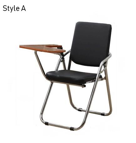 A new generation of folding office chairs/training chair/meeting chair with writing board
