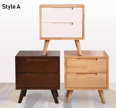 Popular Nightstand in Nordic style with modern and simple design