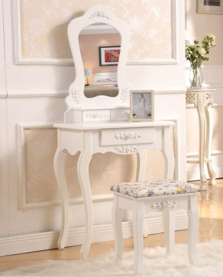 Popular European princess carving simple dressing table