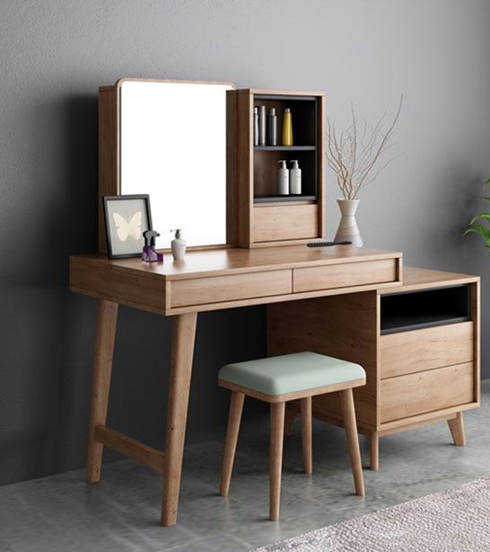 Nordic style web celebrity dressing table