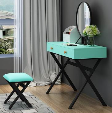 Nordic INS style web celebrity wood dressing table