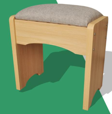 MDF/PB/Melamine E1 Environmental Protection Board dressing bench