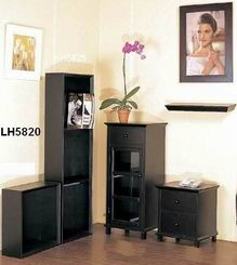 Faux Leather Book Shelf one tier or 3 tiers