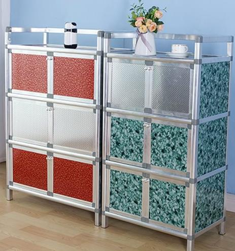Multi-Functional Aluminium Alloy Kitchen Cupboard Storage