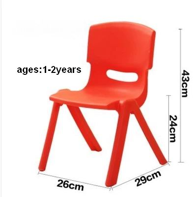 Small plastic furniture children chair in Korean Style