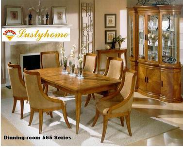 American Village Antique Finishing Dinning room 565 Series