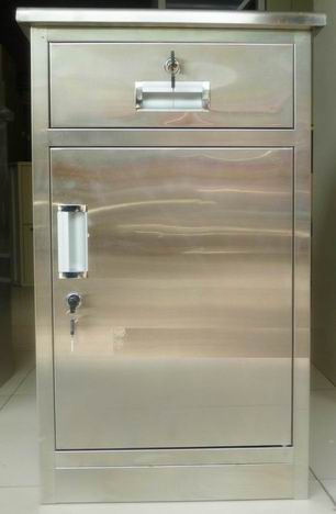Stainless steel medical documents iron cabinet